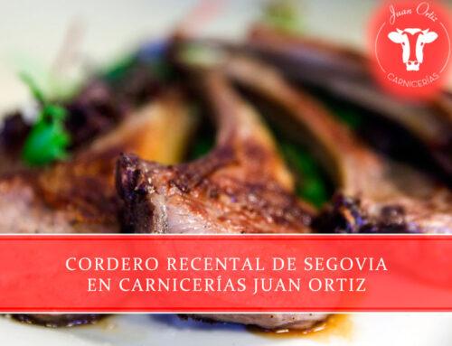 Cordero recental de Segovia en Carnicerías Juan Ortiz
