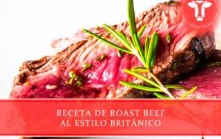 receta de roast beef al estilo británico