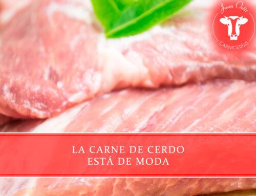 La carne de cerdo está de moda