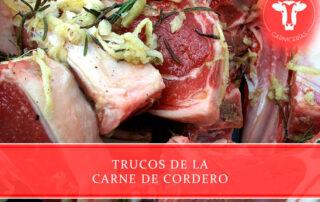 trucos de la carne de cordero