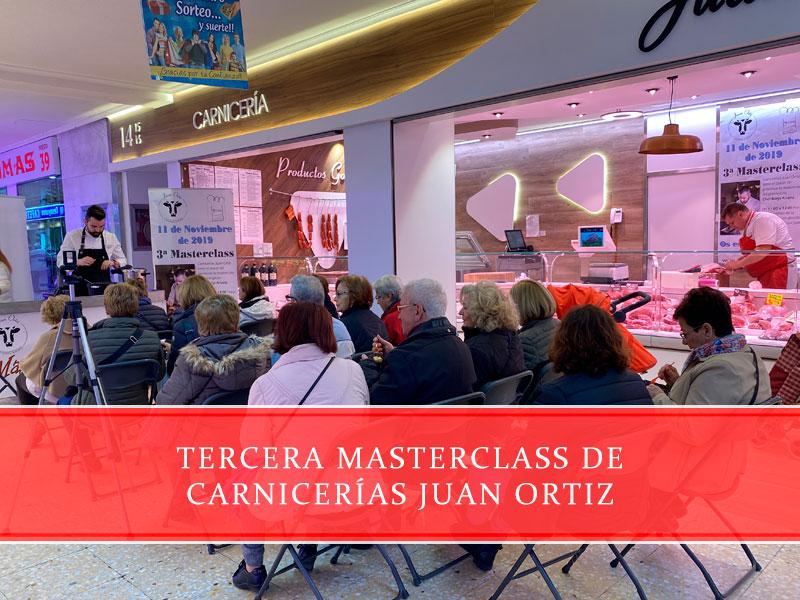 tercera masterclass de Carnicerías Juan Ortiz