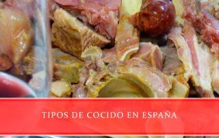 tipos de cocido en España