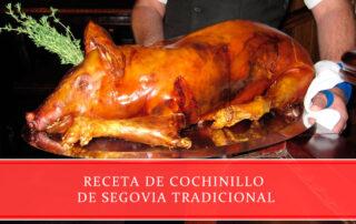 Receta de cochinillo de Segovia tradicional