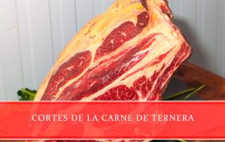 cortes de la carne de ternera Carnicería Juan Ortiz