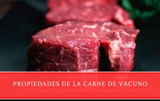 Propiedades de la carne de vacuno Carnicería Juan Ortiz