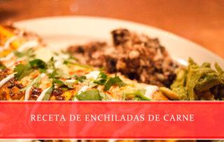 receta de enchiladas de carne