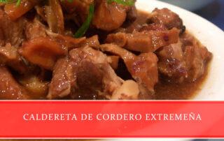 Caldereta de cordero extremeña carnicerías Juan Ortiz