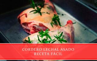 cordero lechal asado receta fácil Carnicerías Juan Ortiz
