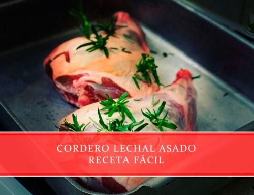 Cordero lechal asado – receta fácil