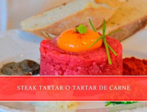 Steak tartar o tartar de carne