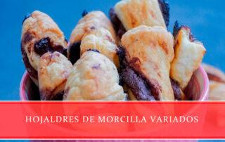hojaldres de morcilla variados - Carnicerías Juan Ortiz