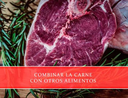 Combinar la carne con otros alimentos