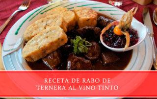 Receta de rabo de ternera al vino tinto - Carnicerías Juan Ortiz