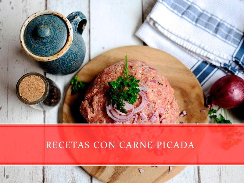 recetas con carne picada - Carnicerías Juan Ortiz