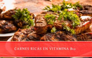 Carnes ricas en vitamina B12 - Carnicerías Juan Ortiz