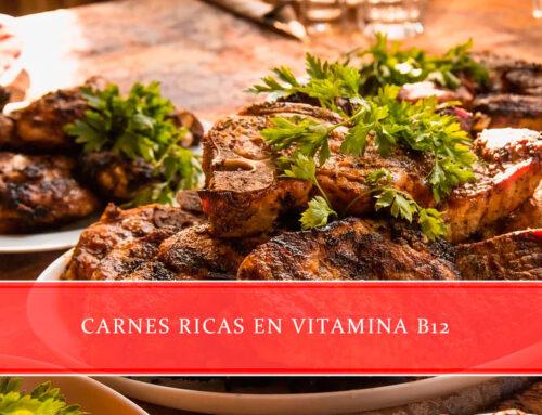 Carnes ricas en vitamina B12