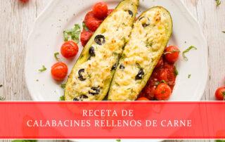 Receta de calabacines rellenos de carne - Carnicerías Juan Ortiz