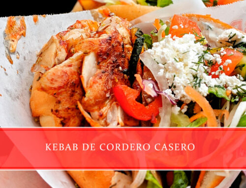 Kebab de cordero casero