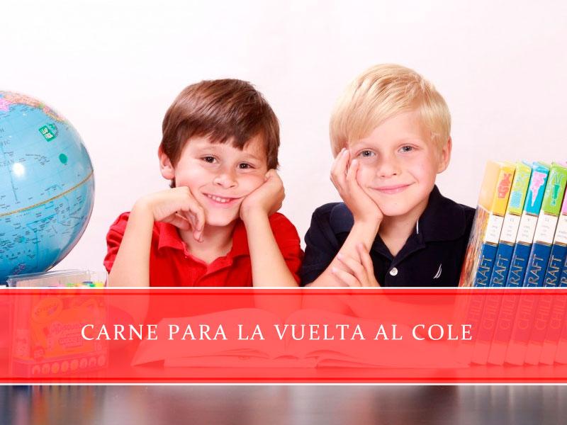 carne para la vuelta al cole - Carnicerías Juan Ortiz